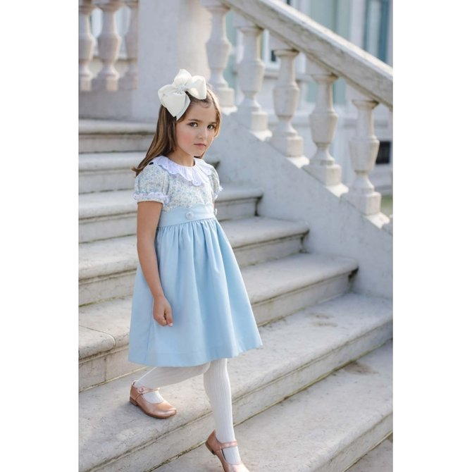 Sal & Pimenta Wonderland Blue Dress