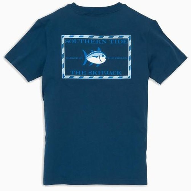 Southern Tide Youth Short Sleeve Classic Skipjack Tee