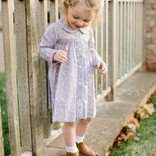 Peggy Green Smocked Dress Britton Floral