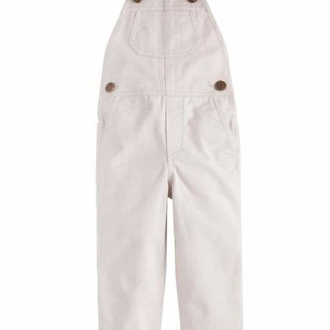 Little English Essential Overall- Pebble Twill