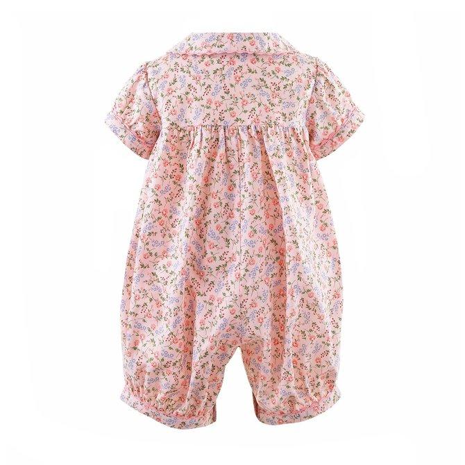 Rachel Riley Ditsy Floral Babysuit