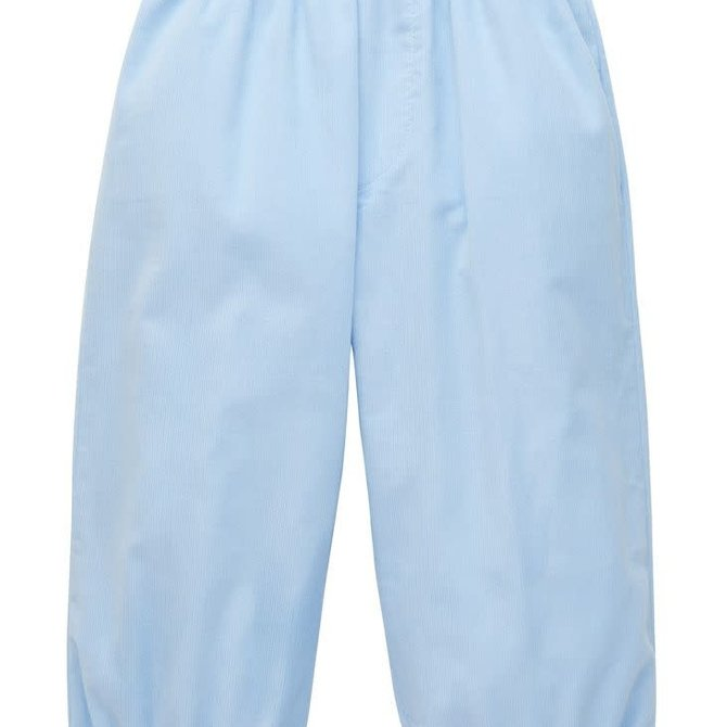 Little English Boys Banded Pull on Pant Light Blue
