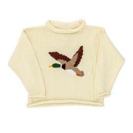 J. Bailey Roll Neck Sweater- Mallard Duck