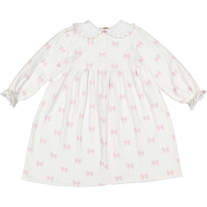 Sal & Pimenta Pink Bows Nightgown