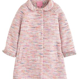 Bisby Cotswold Coat- Pink Boucle