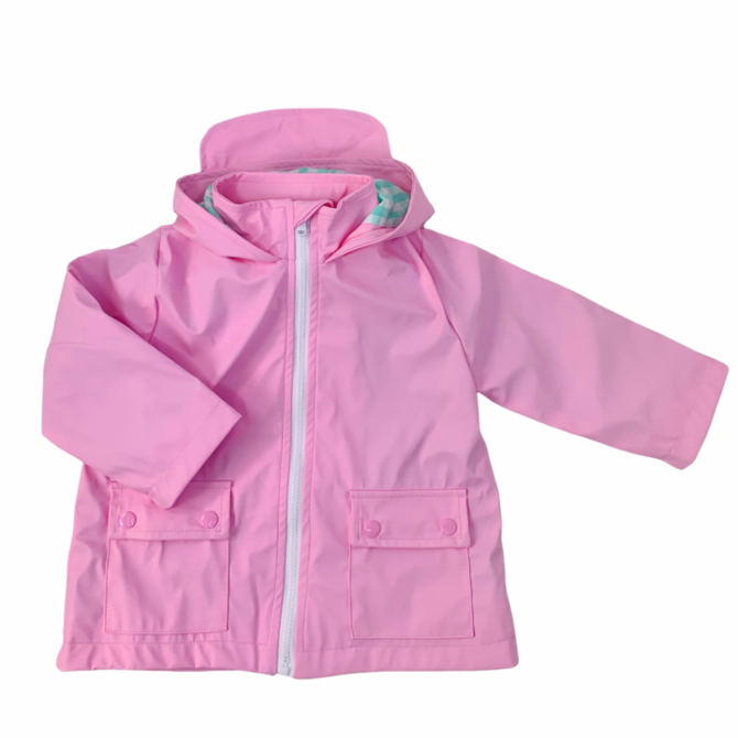 Little Louanne Raincoat Pink