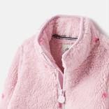 Joules Purple Spot Printed Fleece