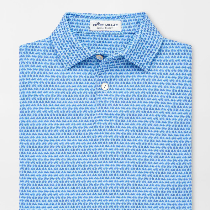 Peter Millar Youth Midnight Performance Polo