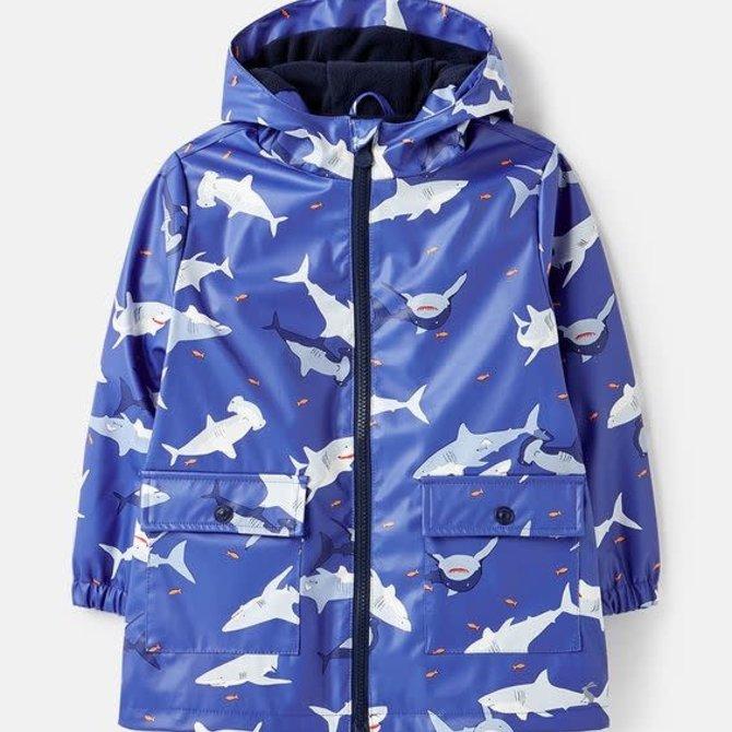 Joules Shark Printed Raincoat