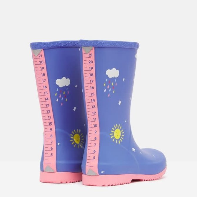 Joules Flexible Printed Welly