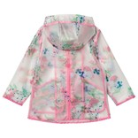 Joules Clear Floral Printed Raincoat