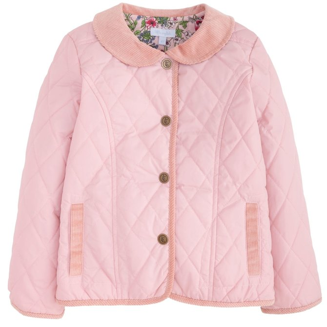 Little English Classic Quilted Jacket Dusty Rose