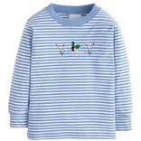 Little English Applique T-Shirt - Mallard