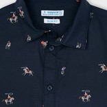 Mayoral Rodeo Button Down Shirt