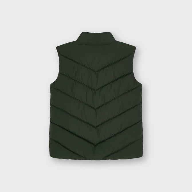 Mayoral Olive Green Puffer Vest
