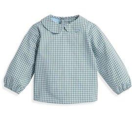Bella Bliss Thomas Shirt- Teal Check
