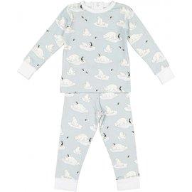 Sal & Pimenta Polar Bears Kid Pajama