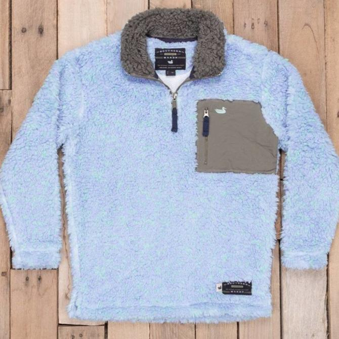 Southern Marsh Blue Ridge Sherpa Pullover