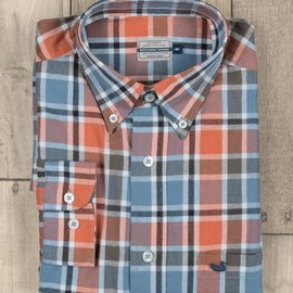 Southern Marsh Adult Ocoee Washed Plaid Shirt