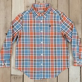 Southern Marsh Youth Ocoee Washed Plaid Shirt