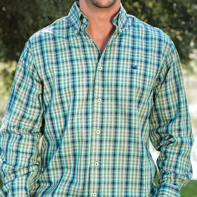 Southern Marsh Men's Cumberland Plaid Button Down