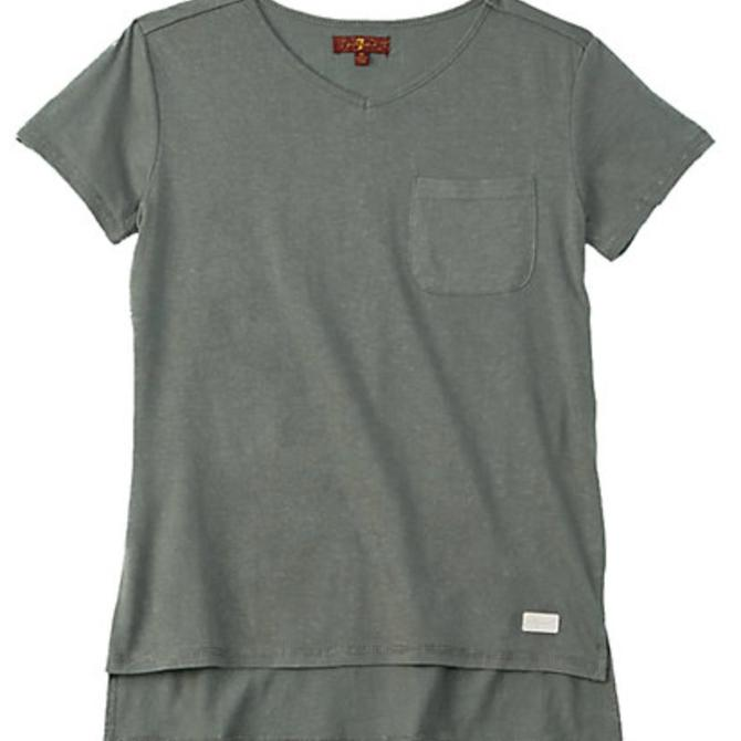 7 for All Mankind High-Low Tee