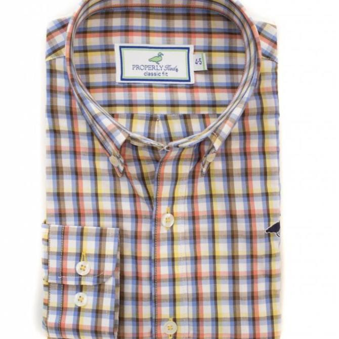 Properly Tied Properly Tied Adult Signature Woven Sportshirt