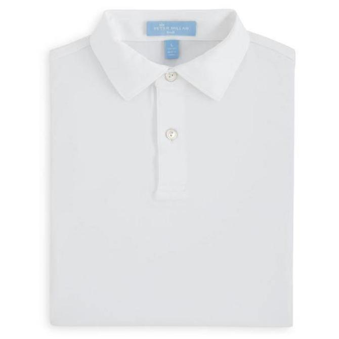 Peter Millar Youth Solid Stretch Jersey
