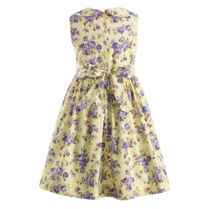 Rachel Riley Rose Peter Pan Collar Dress