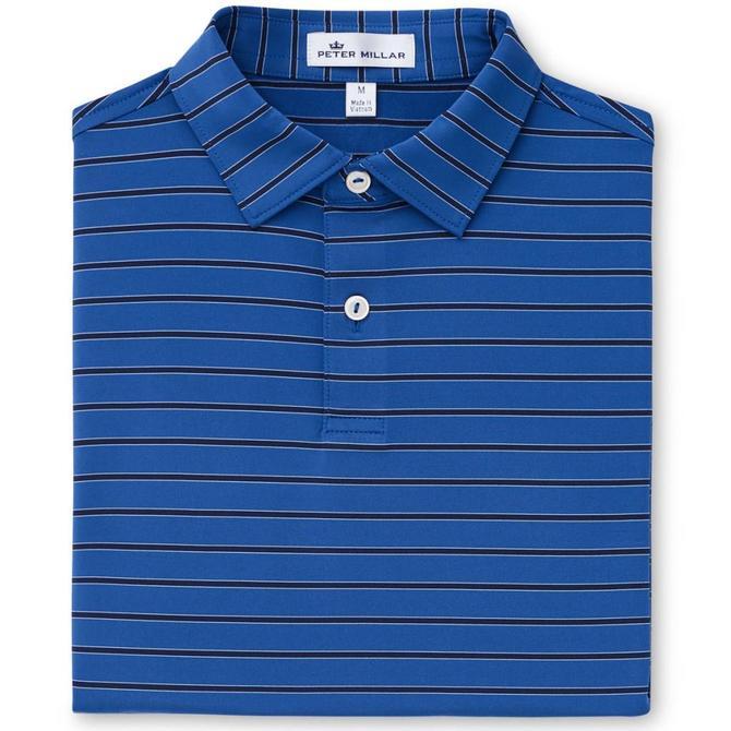 Peter Millar Youth Kiegiel Stripe Jersey Polo- Sean