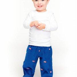 Smiling Button Smiling Button Boys Football Cord Pants
