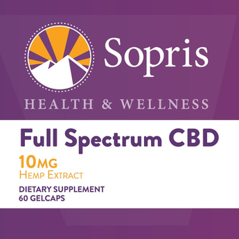 Sopris 10 MG FULL SPECTRUM CBD GELCAPS