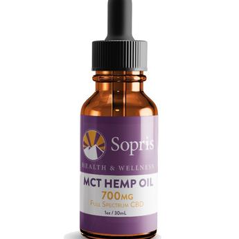 Sopris MCT HEMP OIL - FULL SPECTRUM CBD
