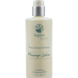 Sopris Massage Lotion with CBD