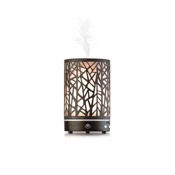 Rusted Metal Essential Oil Diffuser w/ LED Lights