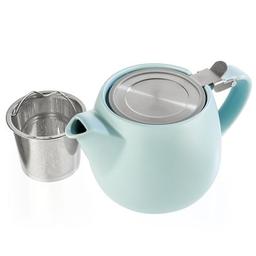 Turquoise Porcelain Teapot 18.2oz