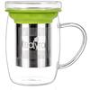 Glass Cup Infuser Mug