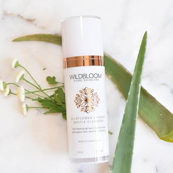 Wildbloom Skincare Face Cleanser - Wildflower + Honey