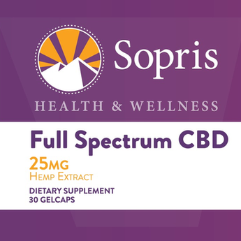 Sopris 25 MG FULL SPECTRUM CBD GELCAPS