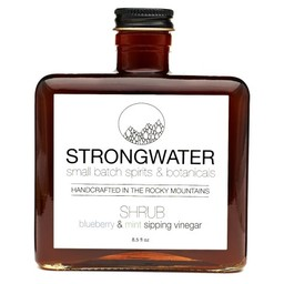 Strongwater Blueberry Mint Shrub