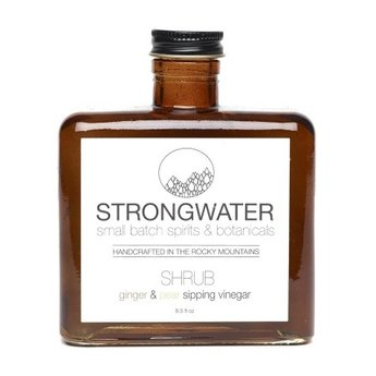 Strongwater Ginger and Pear Shrub