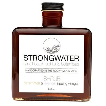 Strongwater Persimmon and Lavender Shrub