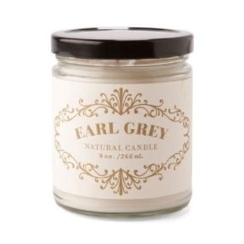 Rosy Rings Earl Grey Apothecary Candle