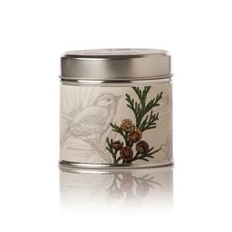 Rosy Rings Forest Soy Tin Candle