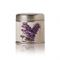 Rosy Rings Roman Lavender Soy Tin Candle