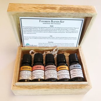 Providence 'Favorite Blends' - aromatherapy kit