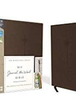 NIV Journal the Word Bible, Brown, Red letter 0276