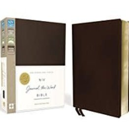 NIV Journal the Word Bible, Leather, Brown 6569