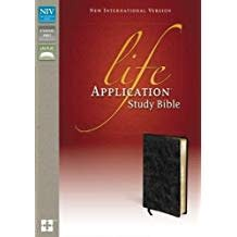 NIV Life Application Study Bible - Black 4597