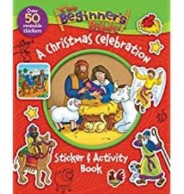Beginner's Bible Christmas Activity Sticker Book 6706